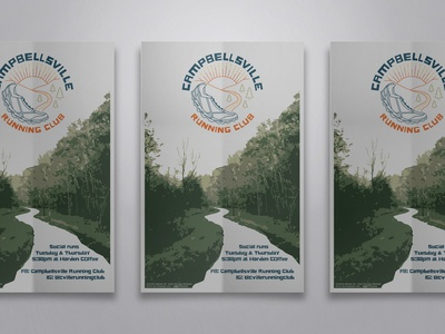Campbellsville Running Club Poster