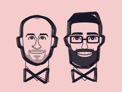 Portraits marker portrait caricature avatar