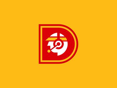 Drive-Thru Logo fast food badge icon design branding advertising design illustrator illustration vector illustration logodesign icon vector logo drive-thru