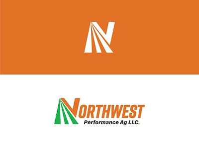 Northwest Performance Ag logo icon branding advertising design illustration vector illustrator agribusiness agriculture agricultural