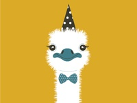 Party Animal: Ostrich