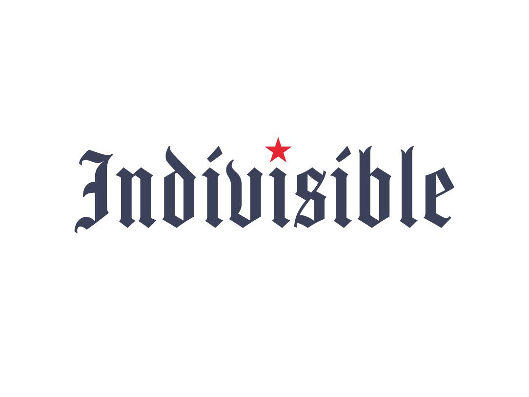 Indivisible Logo branding logo
