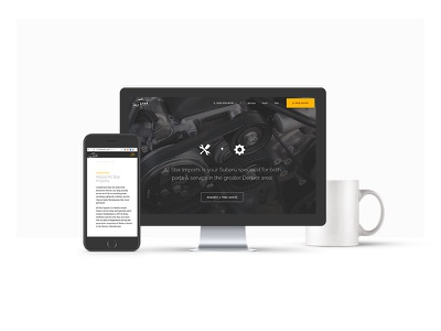 ASI Web Platform coffeee integrated platform site design clean responsive ios apple ui web mobile