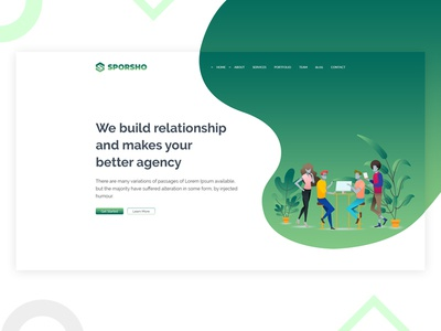 Digital Agency Slider
