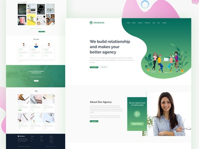 Digital Agency Website Design