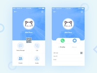 App User Profile UI Design