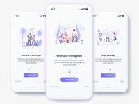 Travel App On Boarding Screen