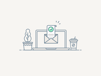 Interface outline illustration
