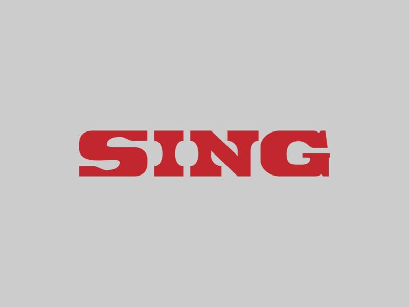 Chang Sing #1 print design typography