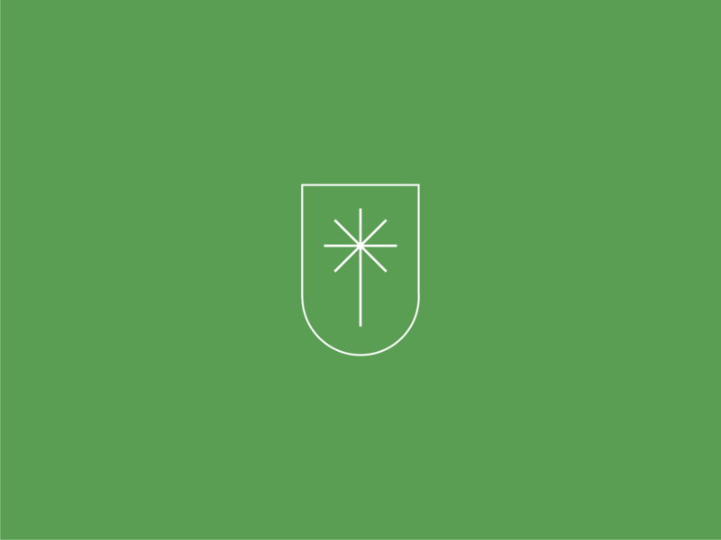 KF Palm palm design branding