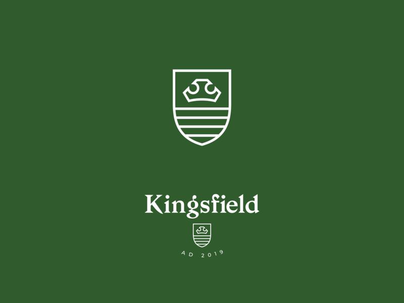 KF Crown crown bagnard typography branding