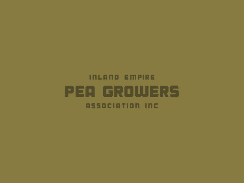 PEA GROWERS #1 typedesign pea growers typography branding