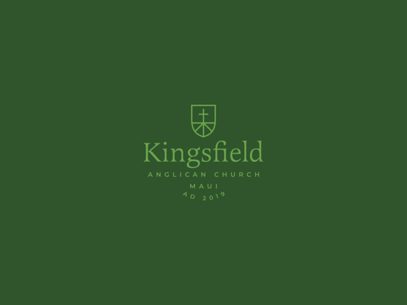 Kingsfield Anglican Church cross branding kingsfield church