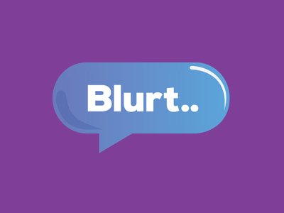 Blurt icon branding logo app icon