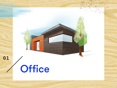 Office Icon sketch architecture builder construction icon