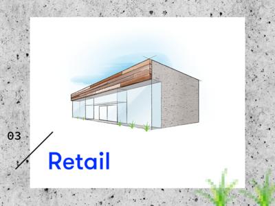 Retail Icon sketch architecture builder construction icon