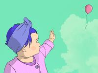 Lú girl characterdesign sky baby love illustration illustrator