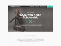 Kode With Karlie Landing Page