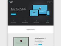 Portfolio Generator Landing Page