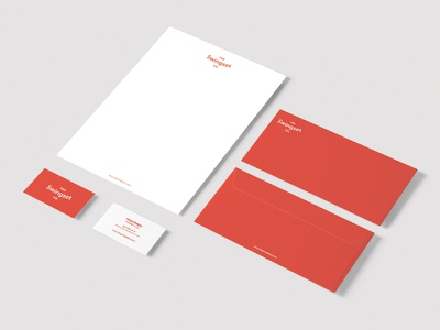 Swingset Co. Branding Concept print stationery envelope letterhead business card logo identity branding
