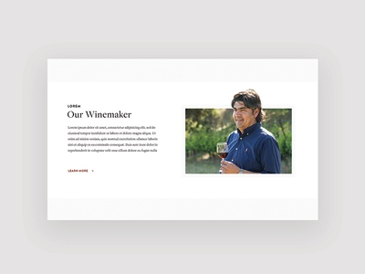 Winery Website responsive digital about us our story website web design