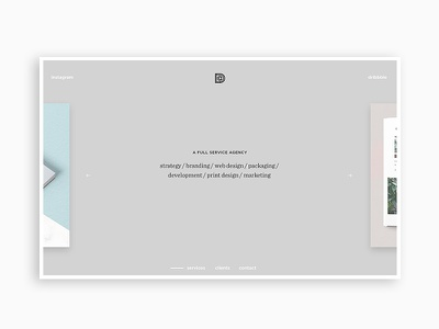 LDCo. Facelift studio agency branding digital portfolio website