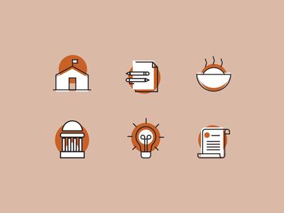 Icons website illustration design digital iconography icon artwork branding web design icon