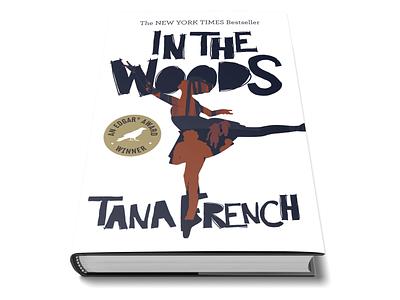 In The Woods vector illustraor wip student work book design illustration