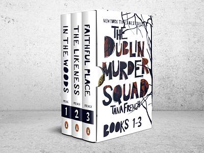 Dublin Murder Squad - Box Set book design packagedesign illustration student work