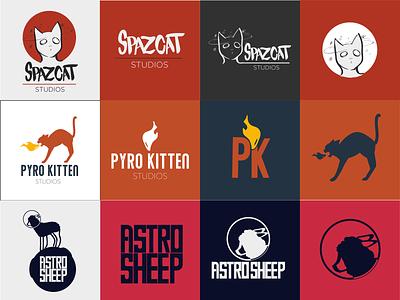 Capstone Logos branding vector logo design logo student work
