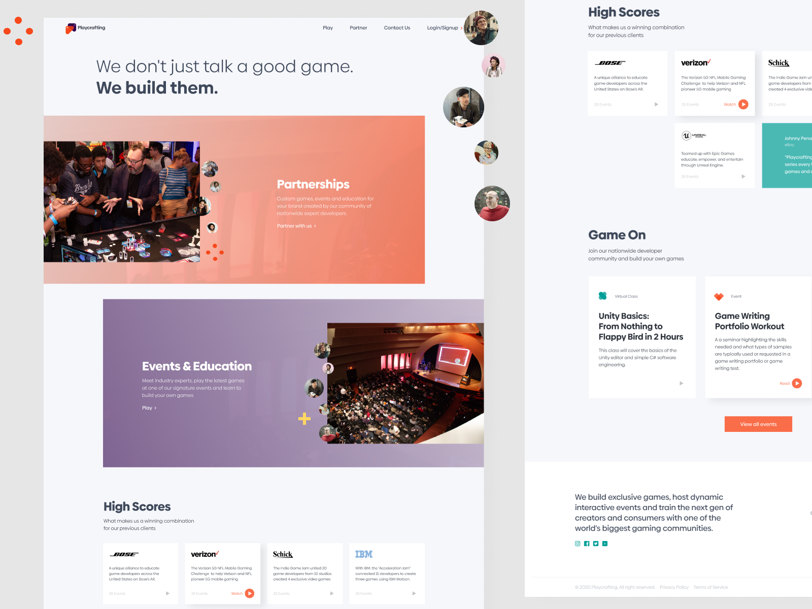 Pc Website By Raul Flores On Dribbble