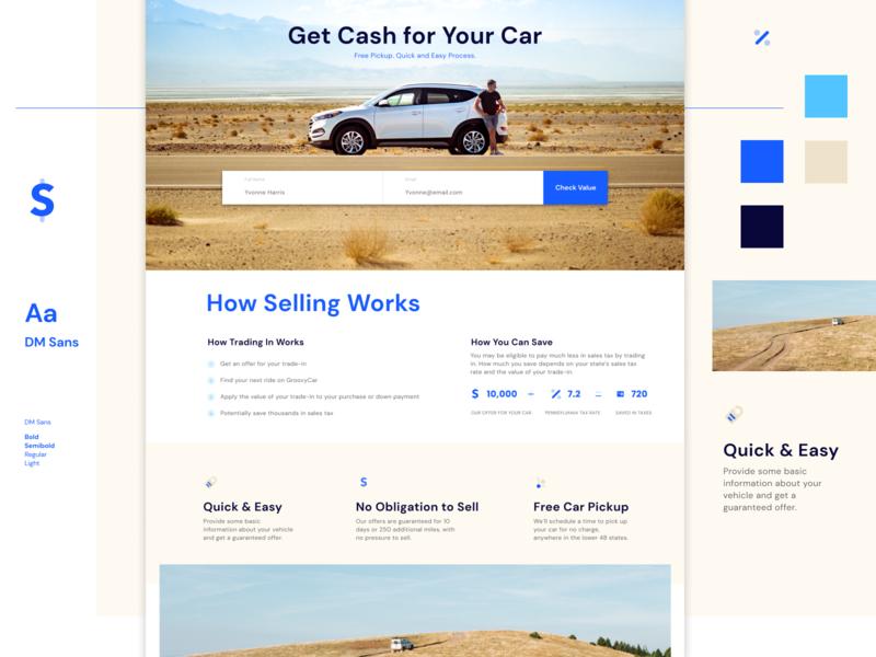 GC Exploration 1 typography web web design website layout visual design ui design