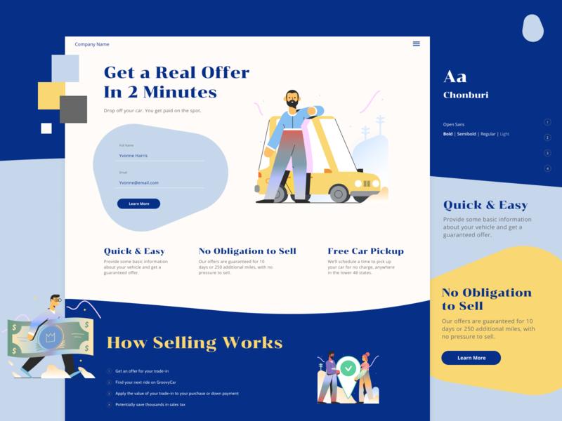 GC Exploration 2 minimal illustration web vector web design website visual design layout ui design