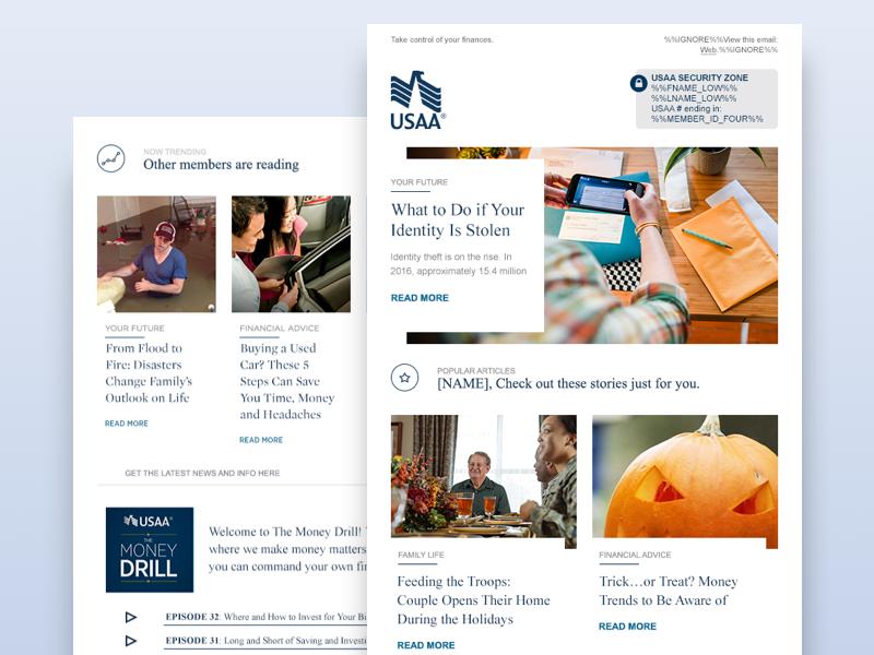 Newsletter Redesign newsletter news infos email