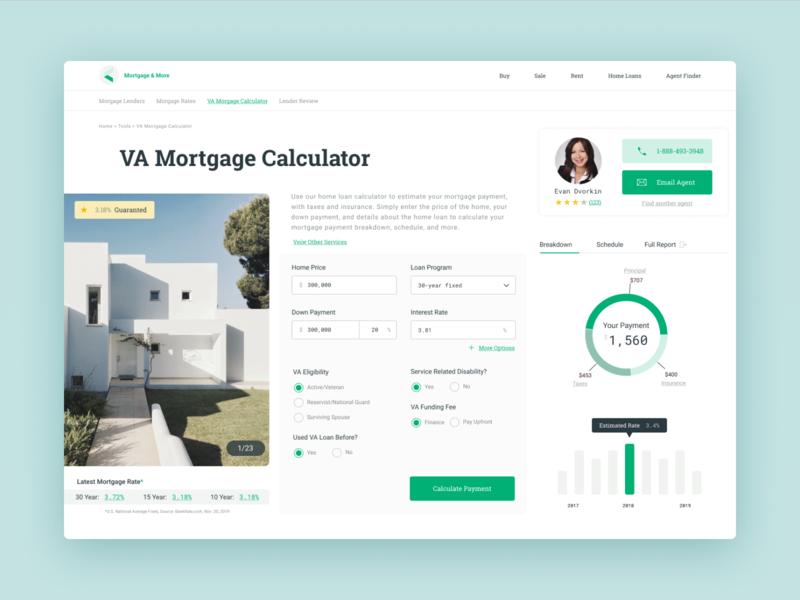 Calculator minimal flat web design website typography visual design layout ui design dailyui
