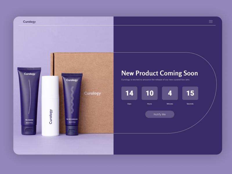 Countdown Timer visual design layout ui design dailyui