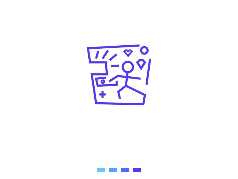 PC Logo icon branding vector logo design