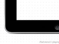iPad Stencil