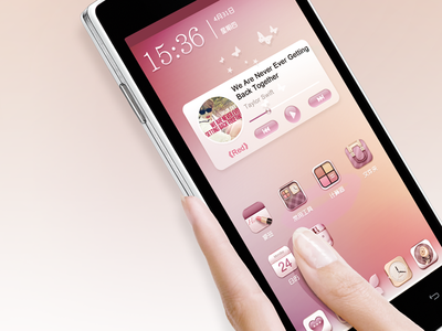Doov Launcher icons girl launcher