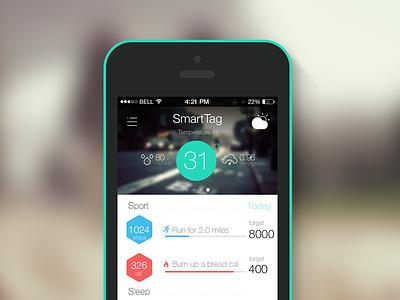 Smarttag wearable app