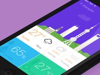 mWeather App