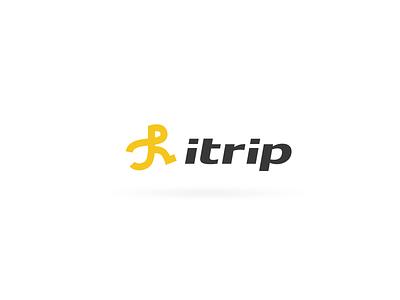 Itrip Logo logo trip travel