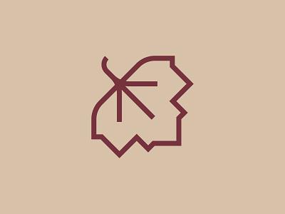 Winery logo for corporate event event design leaf leaf logo vector logo design brandidentity perth designer design graphicdesign branding logo