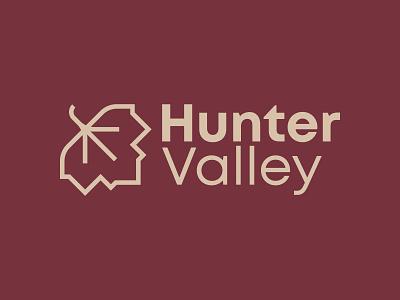HUNTER VALLEY design brandidentity vector illustration logodesign perth designer logo design logo graphicdesign branding