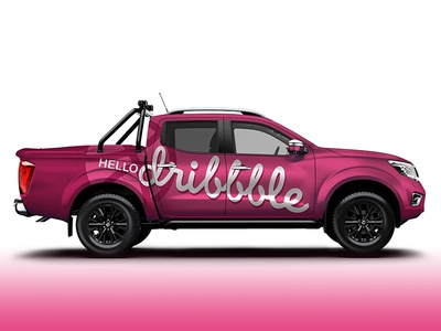 Hello Dribbble Ute