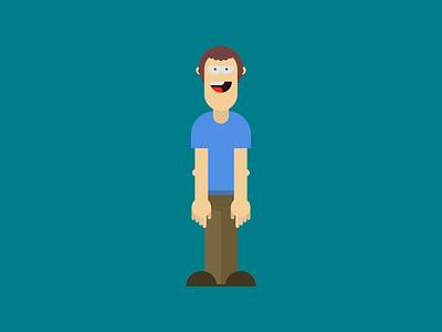 Vector character simple vectors ipad pro affinity designer illustration fun design character design vector character