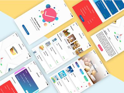 Online supermarket app concept - Biggmart