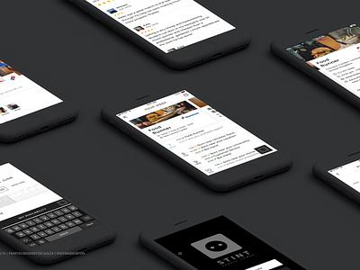 Stint – Revolutionising the way people are employed. stint ltd. uk london student workers work on demand product development designgraphic ui  ux design ui  ux