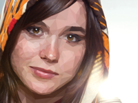 Ellen Page Poly Composite