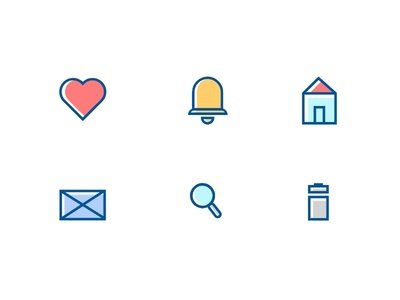 Icon Set - #dailyui - 055